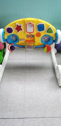 toddler's Fisher-Price musical lion walker St. Louis