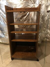 Stereo cabinet with glass doors and 3-layer shelf Hanover, 21076