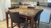 Marble Pub style dining table Vaughan, L4H 2J5