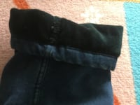 Denim Jeans (With cashmere inside, warm, good for cold weather)