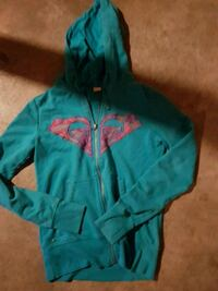 teal and pink zip-up hoodie Guelph, N1E 4E7