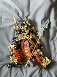 gold and gold-colored dragon figurine Kitchener, N2H 6S4