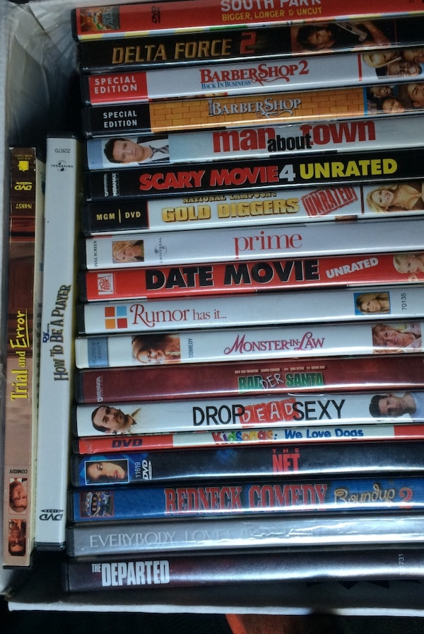 Dvd movies collection