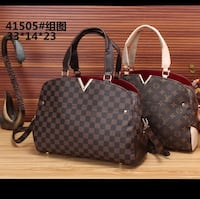 Louis Vuitton Damier Ebene leather 2-way tote bag Hartford, 06112