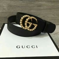 black Gucci leather belt with box Vancouver, V6P 2X2
