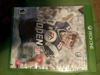 Madden NFL 17 Xbox One game case Millbrook, 36054