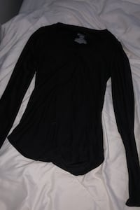 2 black long sleeve shirts (M & XS) Gainesville, 20155