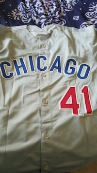 Lou Piniella autographed jersey Spring Valley, 91977