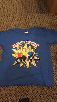 New Wiggles shirt I purchased at a concert. Size 4/5 Vaughan, L4J 5L7