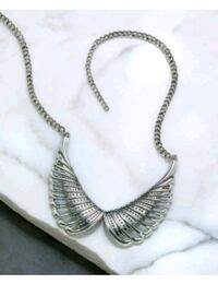 New silver wing necklace Valparaiso, 32580