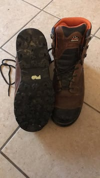 Used Timberlands Pro 600g Insulation size 11M safety toe Boot