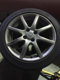 Honda Fit all season tires with original rims 205/45R16