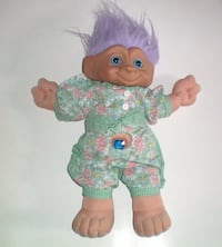 Ace Soft Body 12 inch Treasure Troll Tot Doll with Wishstone Belly Button  London