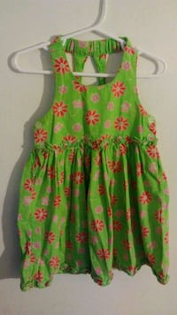 green and pink floral sleeveless dress Durham, 27707
