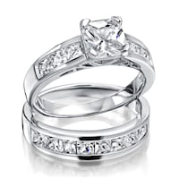 NEW 925 Stamped Size 4 Engagement Set Coquitlam, V3K 3P5