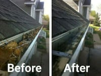 Gutters clean up and fall cleanup Indianapolis