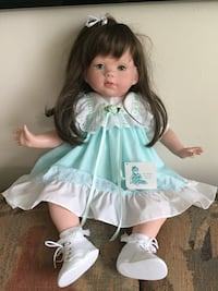 Collectible porcelain doll  Edgewater, 07020