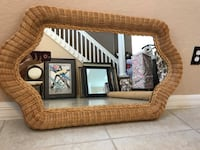 Small Woven Mirror Cape Coral, 33909