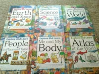Explore and learn 6 volume book set