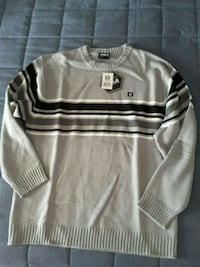 gray and white stripe sweater Riverside, 92509