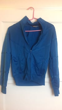 blue zip-up jacket Los Angeles, 90004