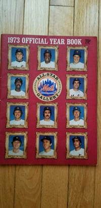 1973 NY METS YEARBOOK Sterling, 20165