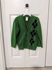 Boys argyle cardigan by Gymboree Size XS (3-4) 6 km