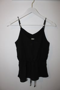 women's black spaghetti strap top North Vancouver, V7J 1R3