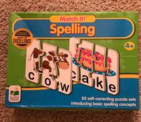 Match It! Spelling Puzzles Wallingford, 06492