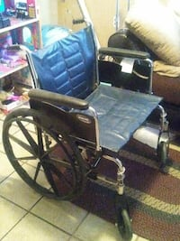 blue and silver wheelchair Stockton, 95215
