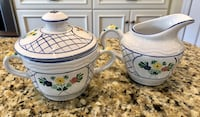 Herend Lattice Hill sugar bowl and creamer Germantown, 20874