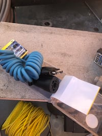 Trailer hitch and trailer wire adapter