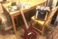 Guitar with extras!