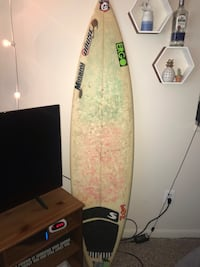 "5'11 Surfboard ""Shaped by Minami"" Shaped in Hawaii"