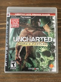 PS3 Uncharted Drakes fortune - $5 New Westminster, V3L