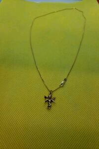 """14k rope  22"""" and angel charm"""