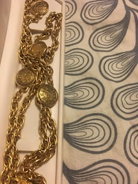 Vintage Chanel Gold rope necklace New York, 10019