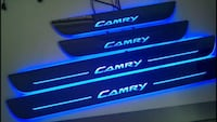 Toyota Camry led door sill scuff plates Mississauga, L4Z 1A1