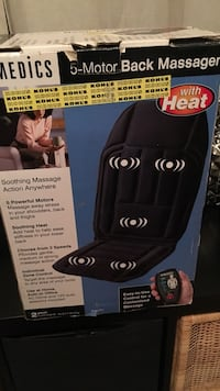 Homedics 5-Motor back massager box 2271 mi