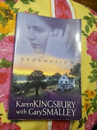 Redemption Karen Kingsbury with Gary Smalley book