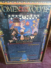 Women Who run With the Wolves Poster Albuquerque