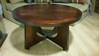 Wood coffee table 2 toned