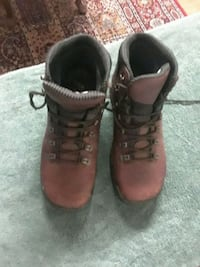 Steel toe boots rocky size 8 and 1/2