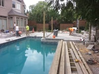 Swimming pool installation Oakville