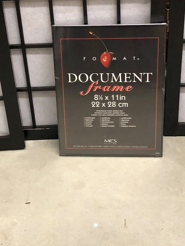 e1214eca026d4 Used Document Frame box for sale in Cumming - letgo