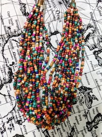 Beaded Boho Necklace Toronto