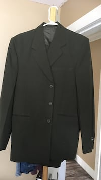 black 3-button suit jacket Surrey, V3S 3R4