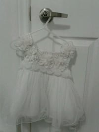 White fancy dress for baby girl Pickering, L1X 2V5