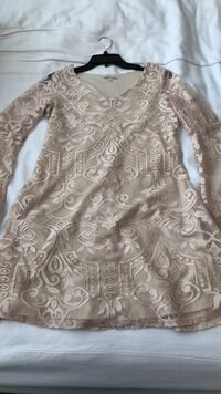 Tan Lace Dress from Charlotte Russe Woodbridge, 22192