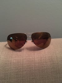 silver framed Ray-Ban aviator sunglasses Toronto